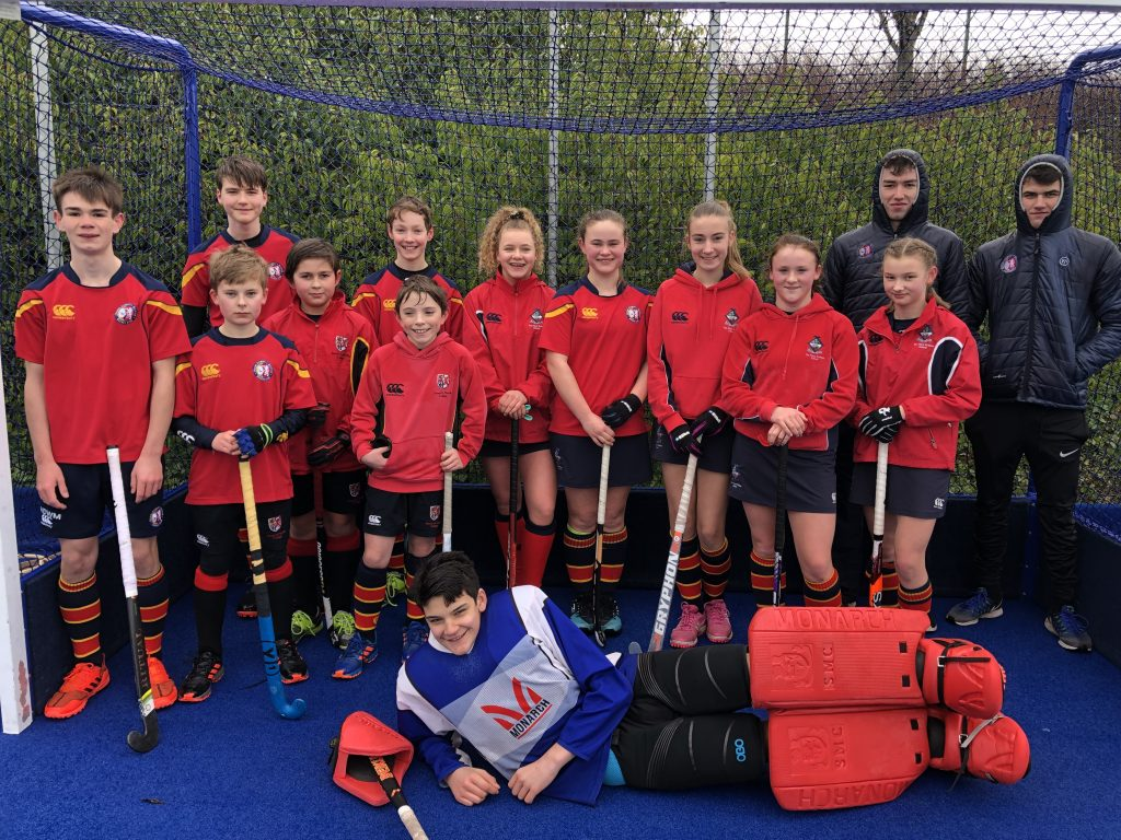 ESM Hockey Club Eagles team photo