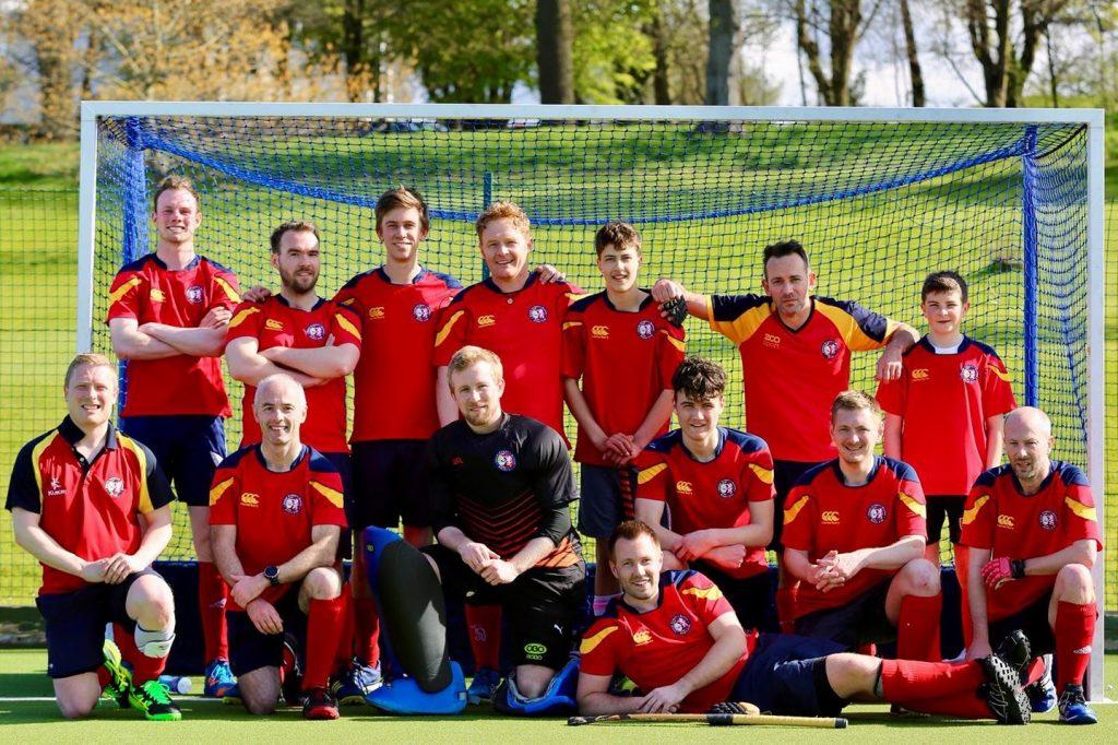 ESM Hockey Club Men's 3s team photo