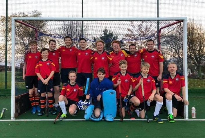 ESM Hockey Club Men's 4s team - adult and youth playing in Edinburgh