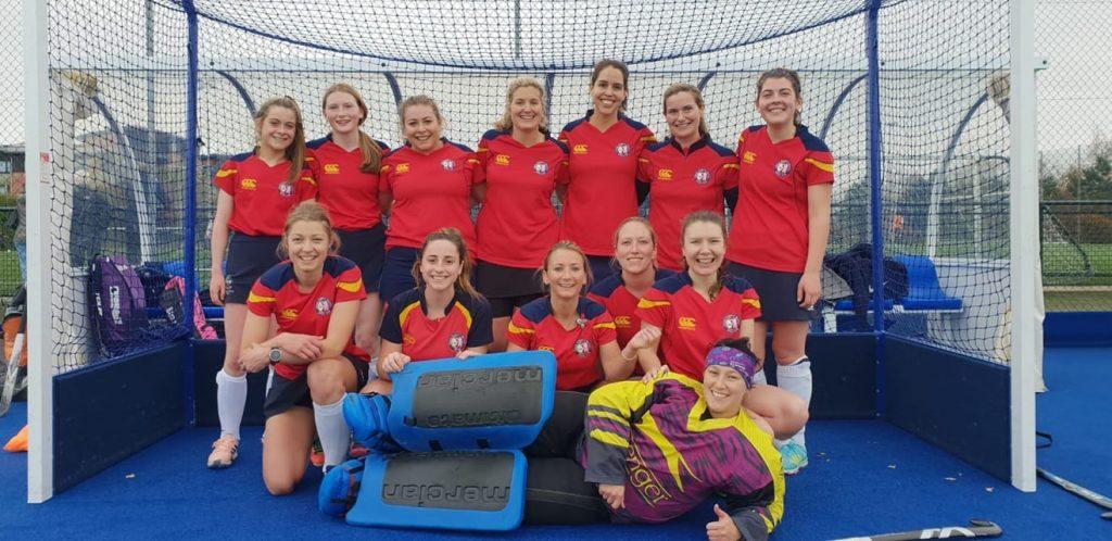 ESM Hockey Club Women's 3s team photo