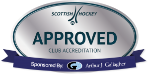 Scottish Hockey Silver Club Accreditation logo