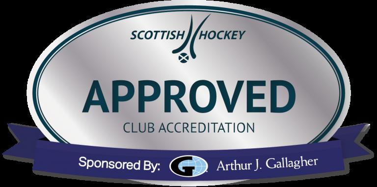 Scottish Hockey silver accreditation logo