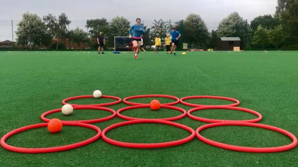 ESM Hockey Cub adult training in Edinburgh