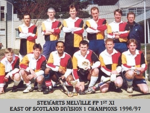 Men's 1st XI East of Scotland Division 1 Champions 1996/7