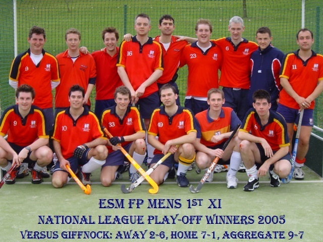 Men's 1st National League Play-off Winners 2005