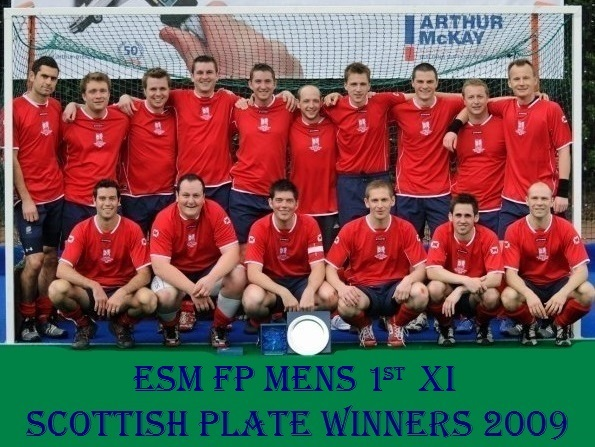 Men's 1st XI Scottish Plate Winners 2009