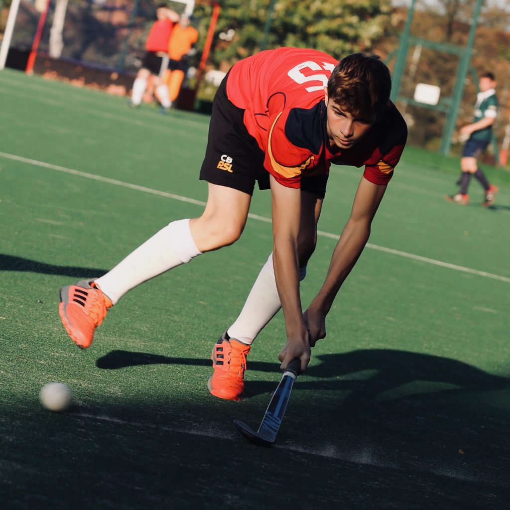 ESM Hockey Club Men's player - September 2019