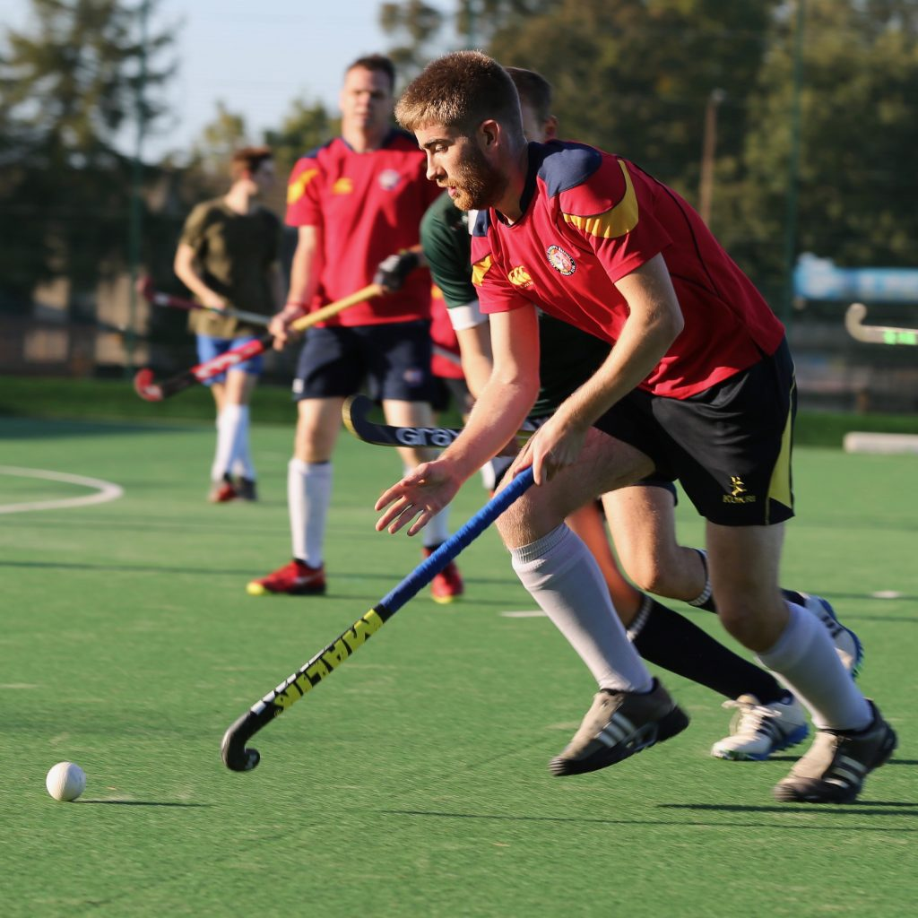 Men's hockey in Scotland with ESMHC - September 2019