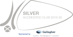 Scottish Hockey Silver Accreditation logo