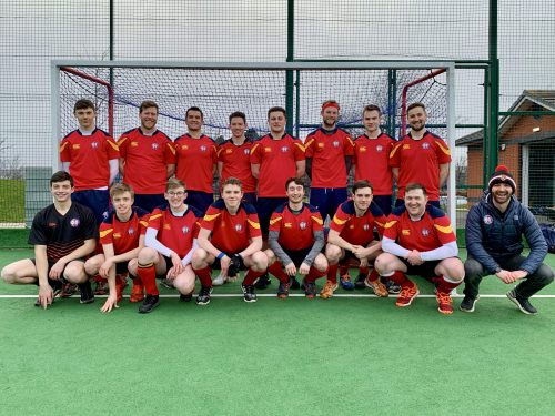 ESM Hockey Club Men's 1s team - October 2020
