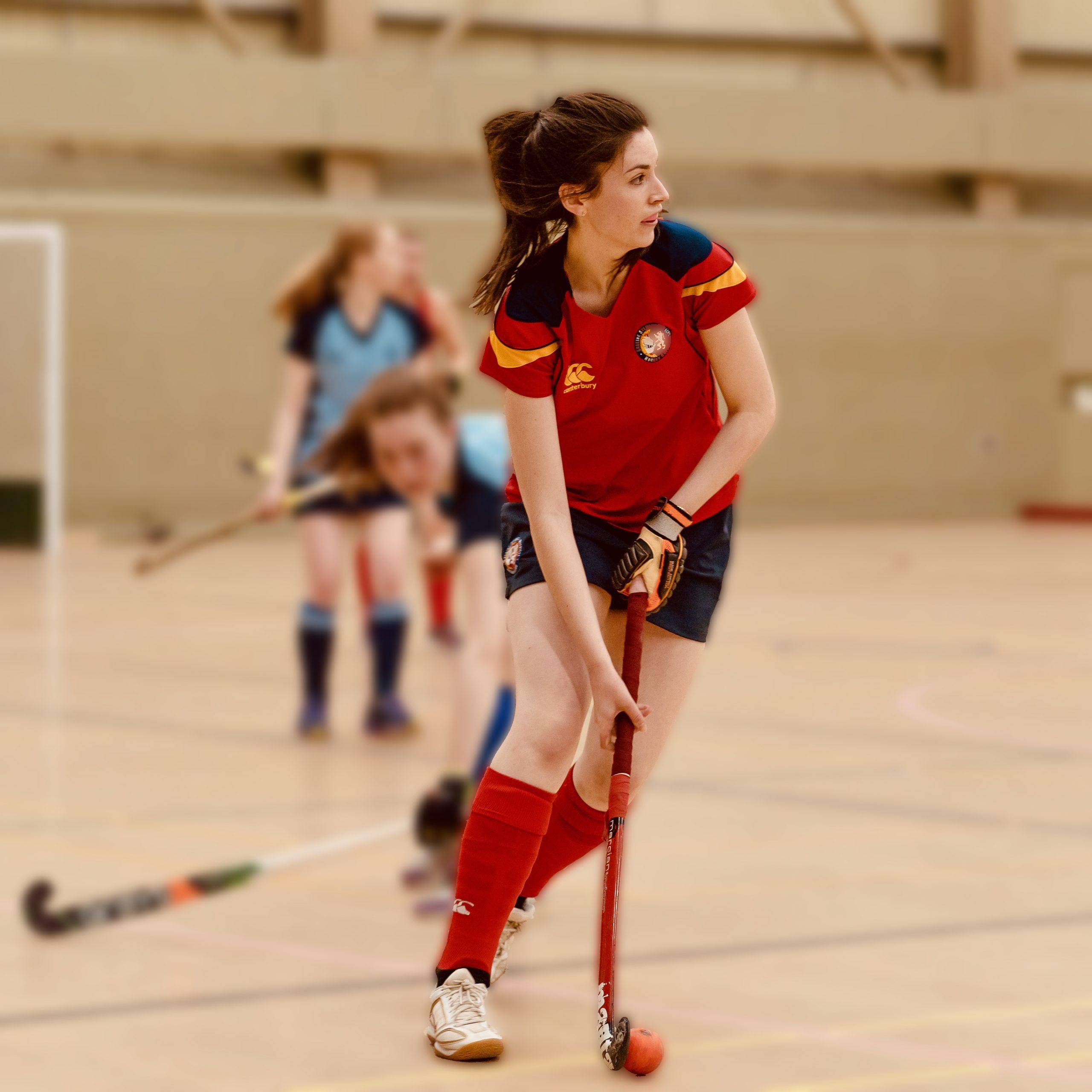 Women's indoor hockey 2020 - ESM Hockey Club, Edinburgh